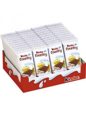 Kinder Country chocolade reep