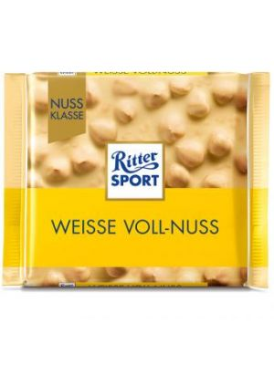 Ritter Sport chocolade Vol noten wit